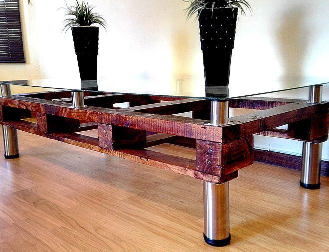Large Palett Coffee Table