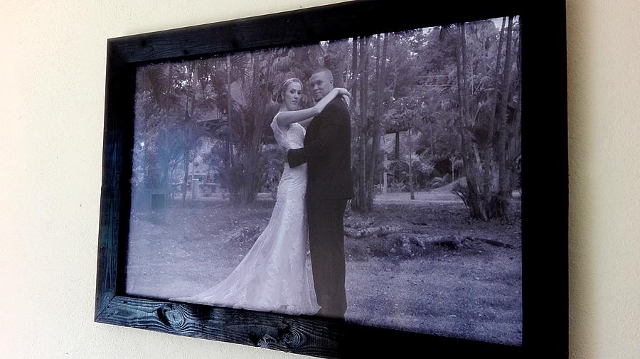 Black Photo Frame | Large