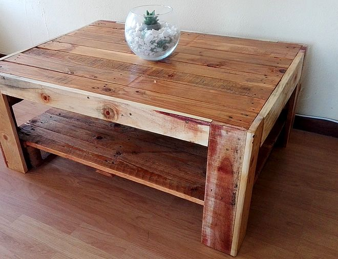 Farm-Style Pallet Coffee Table, Creator Creations Custom Furniture White River / Nelspruit, Mpumalanga