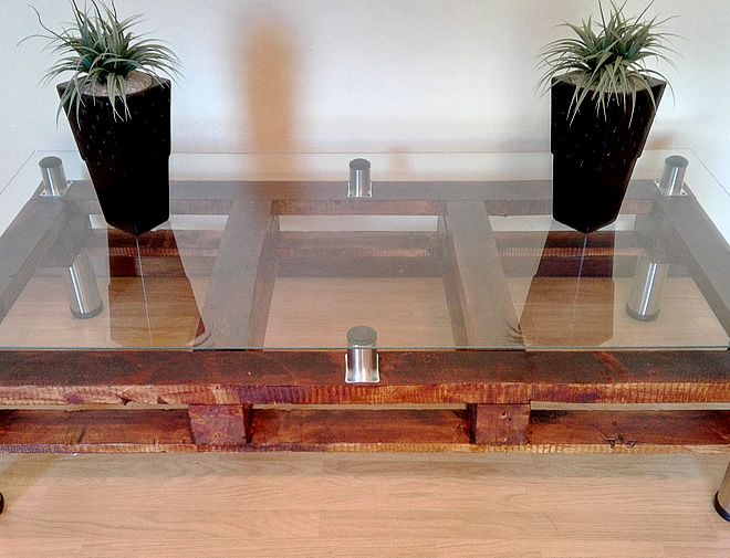 Pallet Coffee Table - Creator Creations Custom Furniture White River / Nelspruit, Mpumalanga