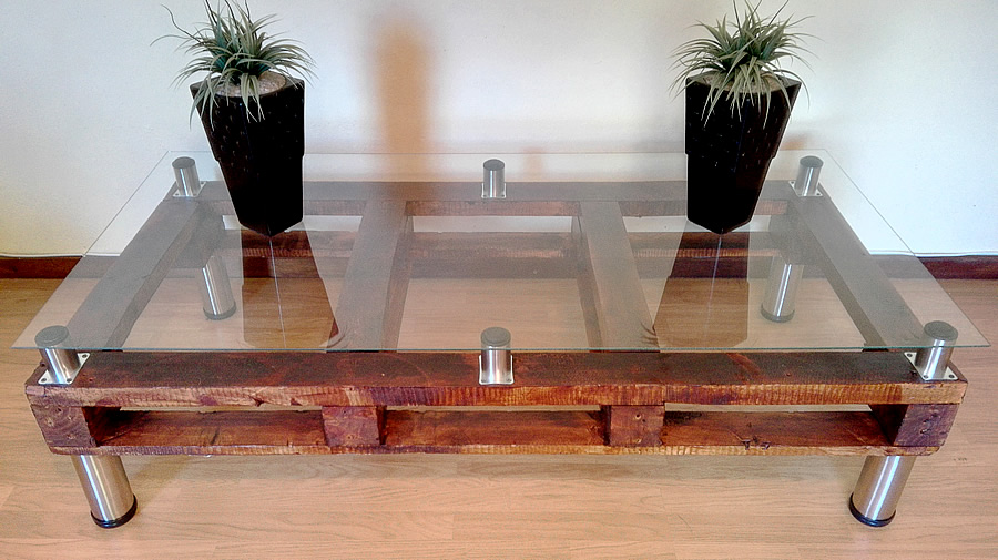 Large Rustic Pallet Coffee Table Creator Creations