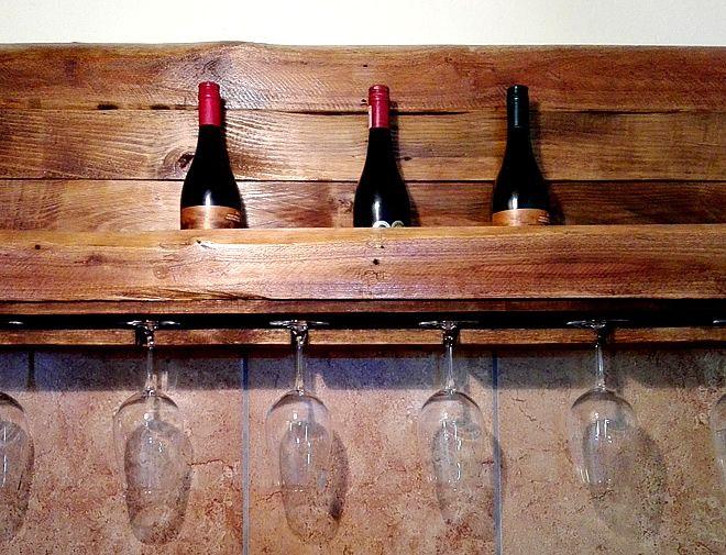 Wine Rack, Pallet Crafts, Creator Creations Custom Furniture White River / Nelspruit, Mpumalanga