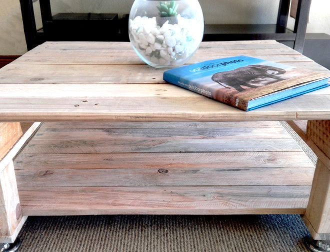 Pallet Craft Wooden Coffee Table, recycled, Nelspruit, White River, Creator Creations Woodworks company Mpumalanga