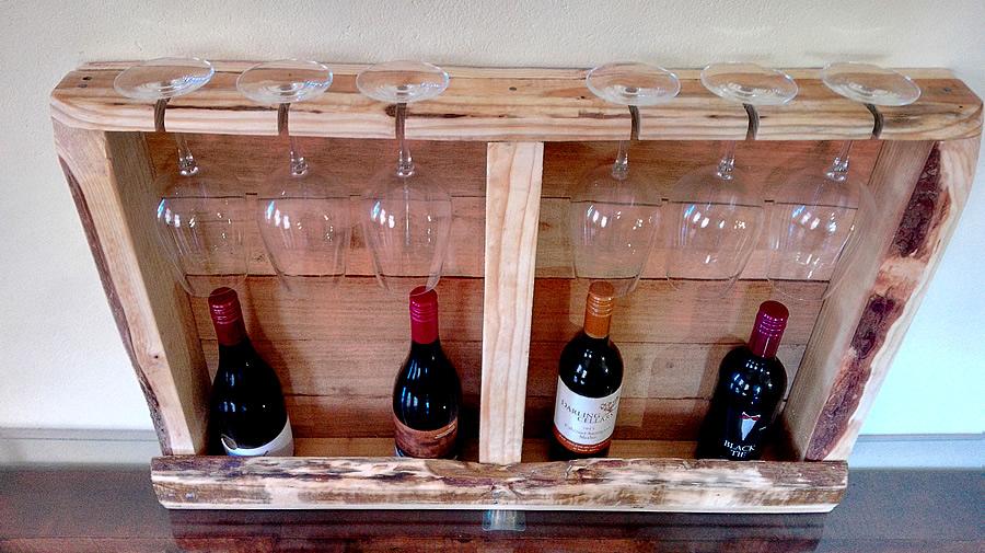 pallet wine glass rack. Categories: Wine + Glass Racks, Racks. Pallet Rack