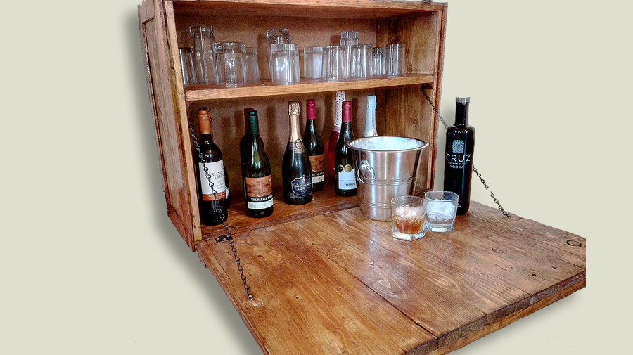 Wall bar cabinet creator creations for What kind of paint to use on kitchen cabinets for custom price stickers