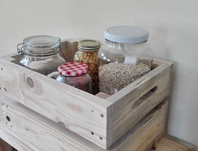 Storage Crate Kitchen Pantry Storage 2
