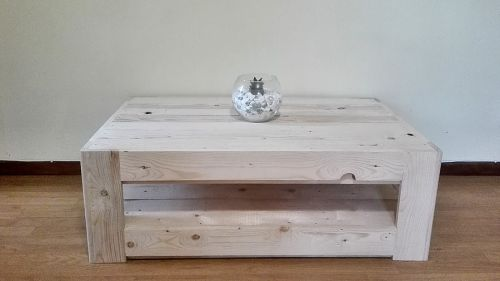 Large Pallet Coffee Table Glass Top Creator Creations