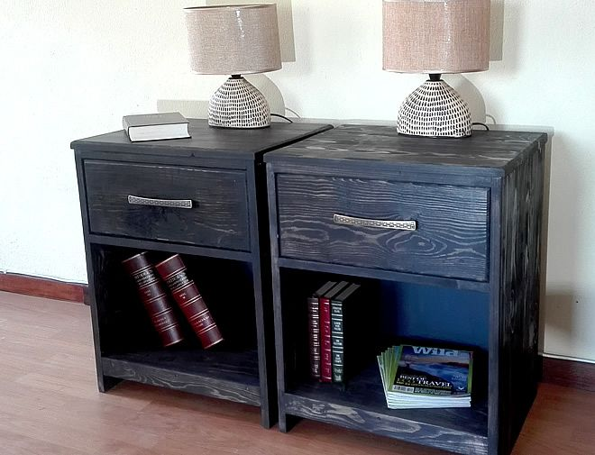 charcoal grain bedside tables 3