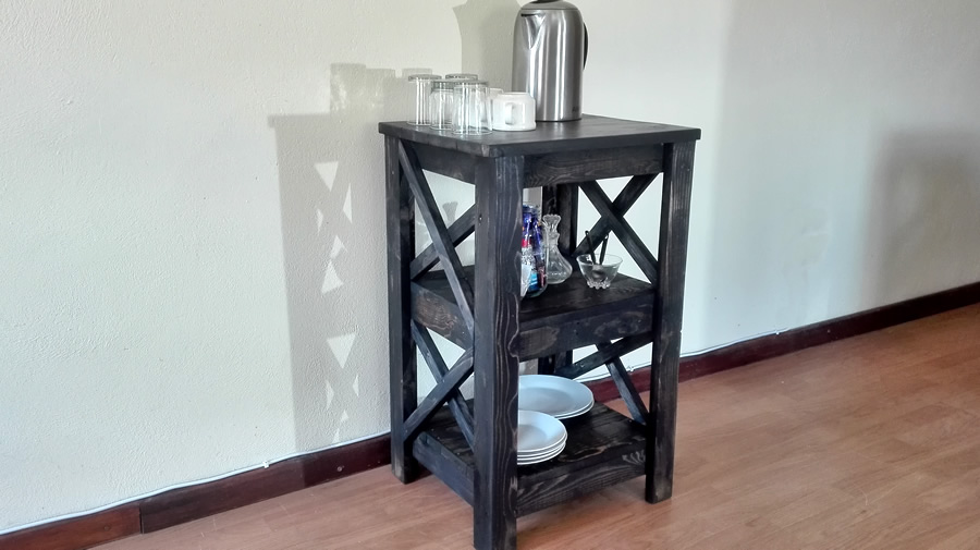 Charcoal Shelf Unit | Small
