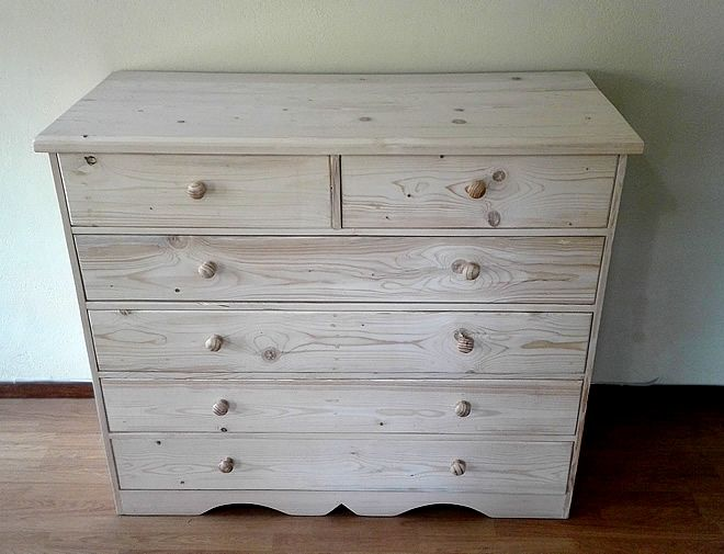 Chest of Drawers - Large and Raw 1