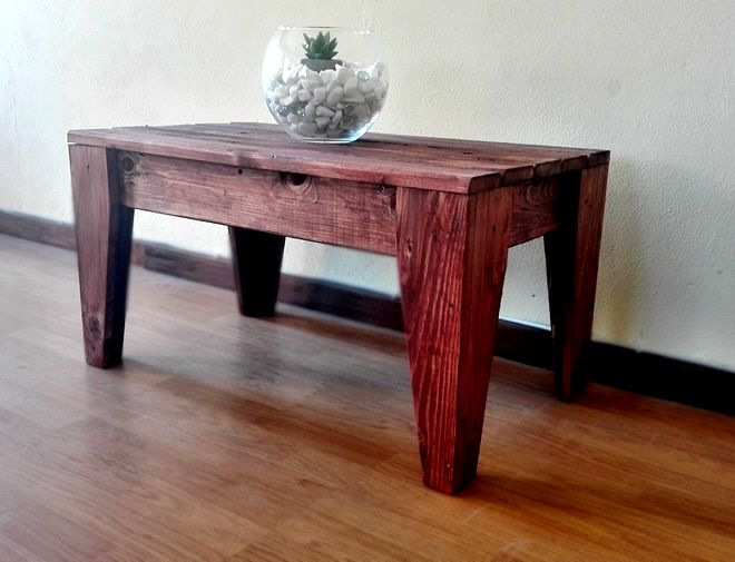 Mini Table - Mahogany 2