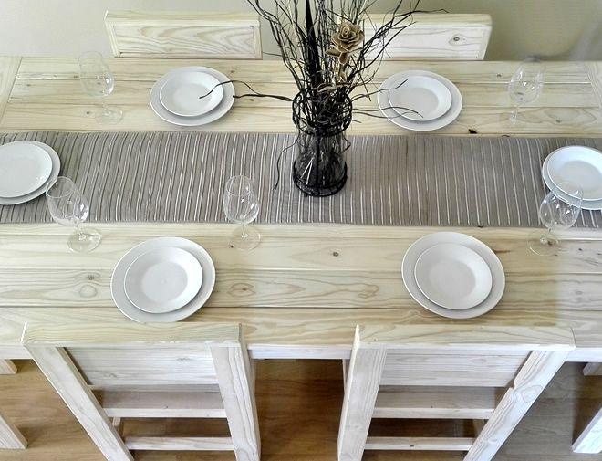 standard dining set raw 4