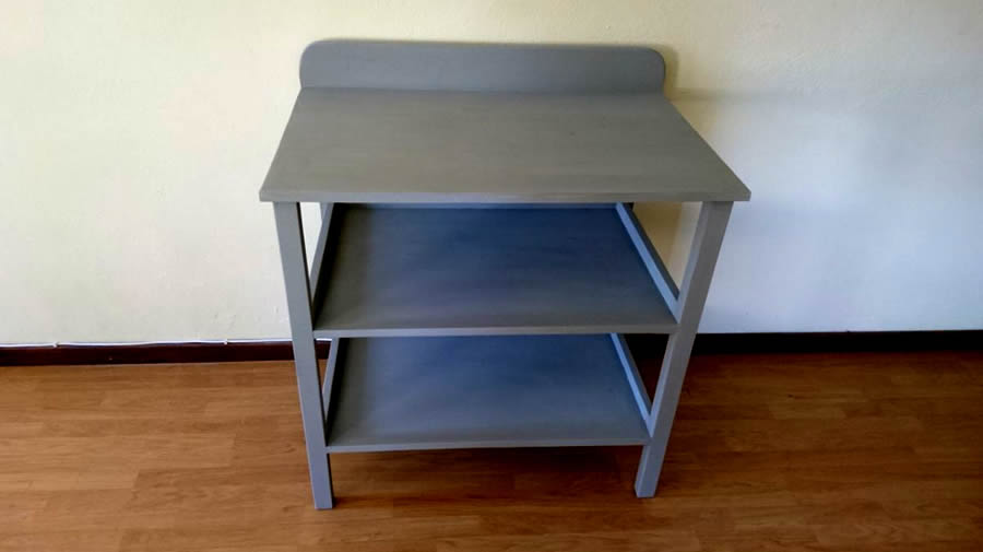 Basic Shelf Unit | Chalk Grey
