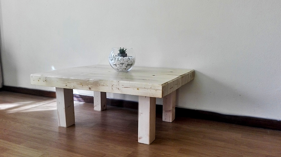 Butcher's Block Coffee Table