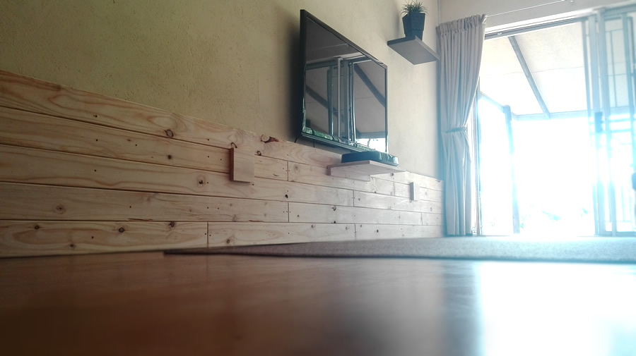 Built-in Wall Cladding | Floating TV Stand