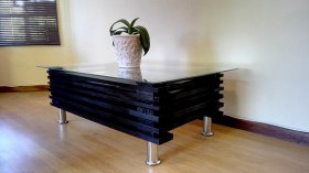 Modern Black Coffee Table, Pallet Coffee Table, Creator Creations Custom Furniture White River / Nelspruit, Mpumalanga