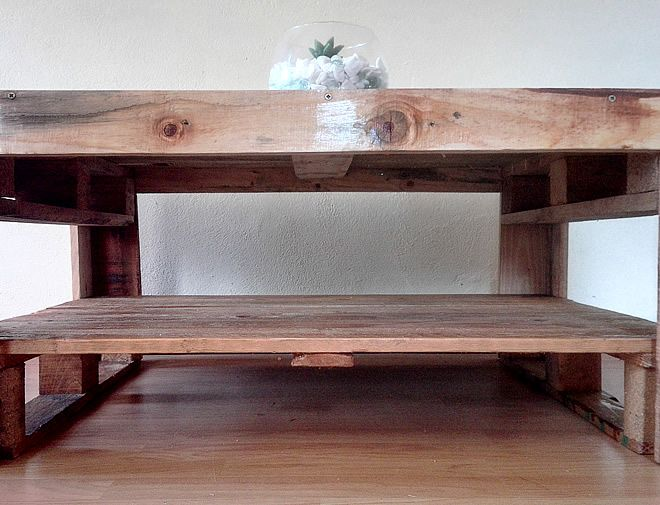Rustic, Farm style Pallet Coffee Table, Custom Furniture and woodworks Creator Creations Custom Furniture White River / Nelspruit, Mpumalanga