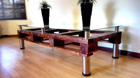 Complete Pallet Coffee Table, Creator Creations Custom Furniture White River / Nelspruit, Mpumalanga