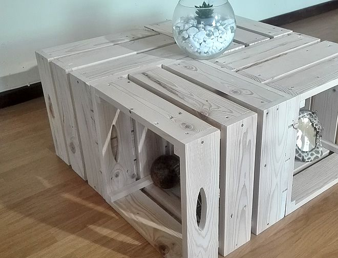 1Pallet Crate Coffee Table 3