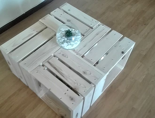 2Pallet Crate Coffee Table 2