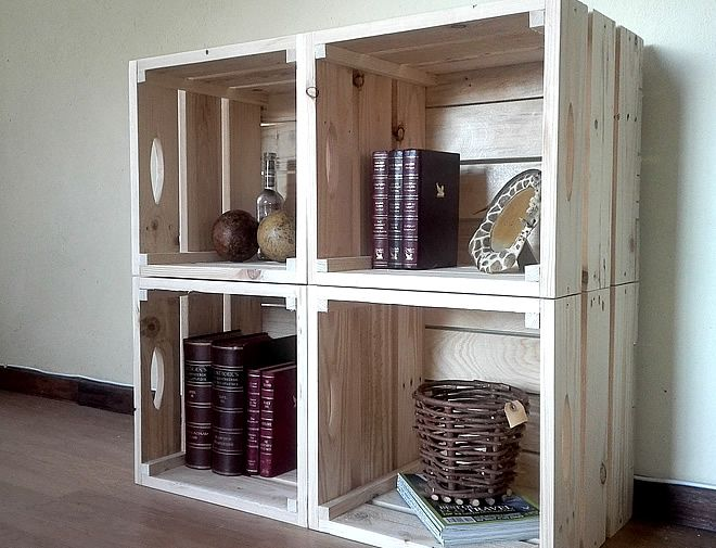 Pallet Crate Wall Storage Unit 1