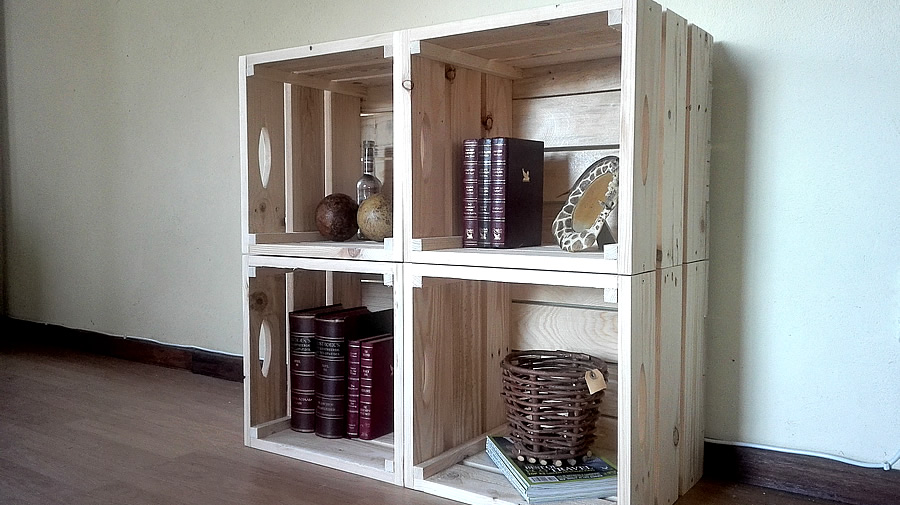 Pallet Crate Wall Unit