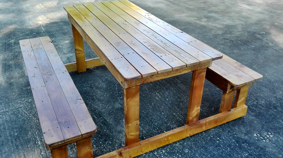 Pallet Picnic Set | 6 Seater