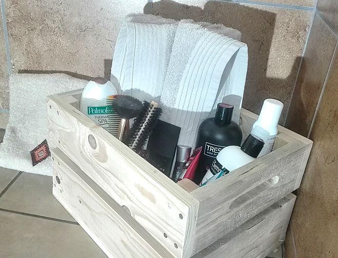 Storage Crate Bathroom Vanity Storage 3