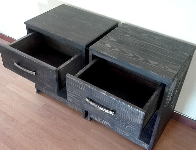 charcoal grain bedside tables 2
