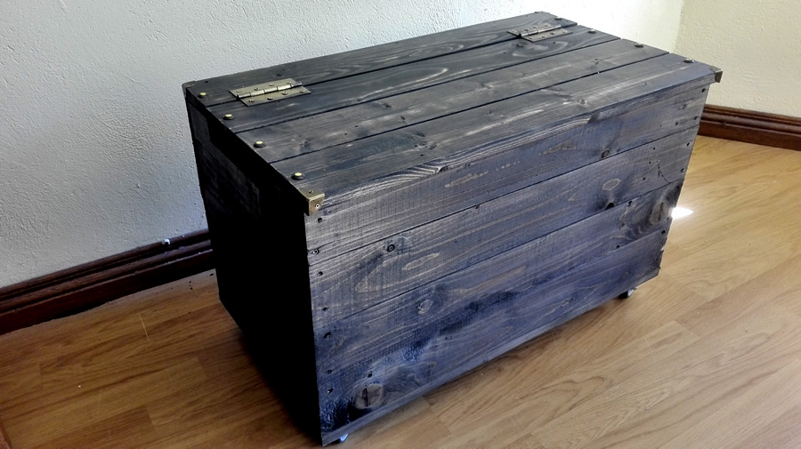 Charcoal Storage Trunk