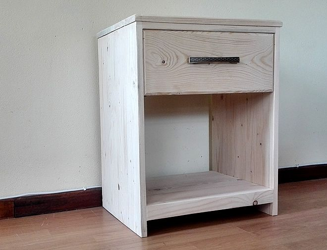 raw bedside table with drawer 3