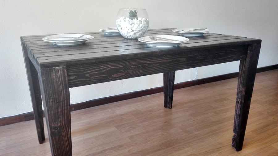 Dining Table | Charcoal