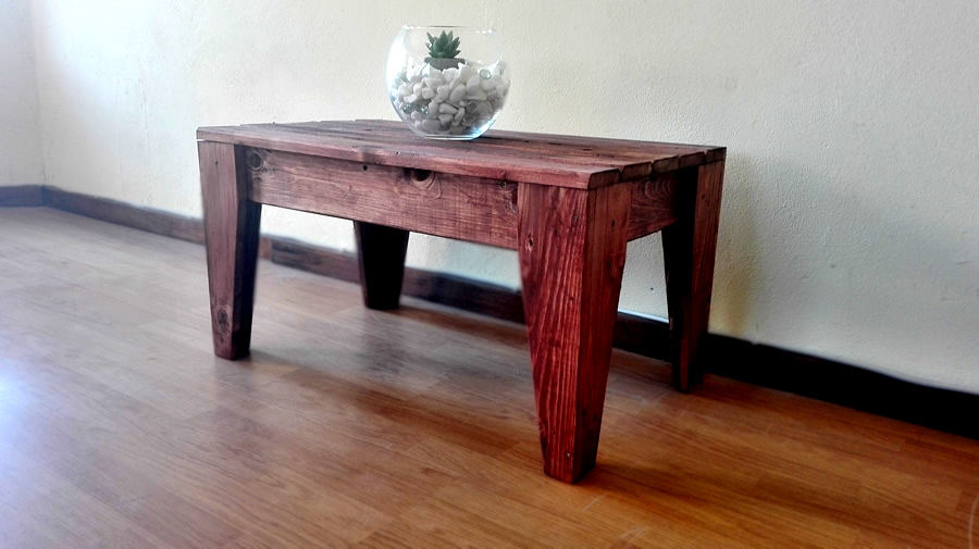 Stool Table | Mahogany