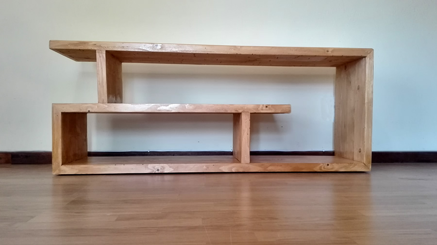 Spiral Style TV Stand