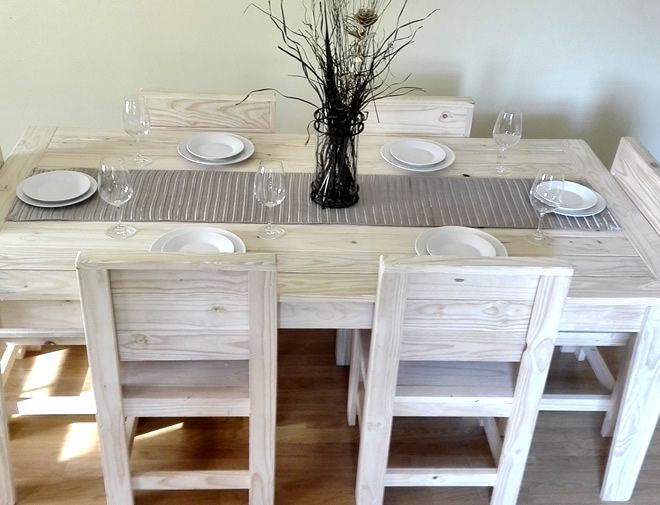 standard dining set raw 2