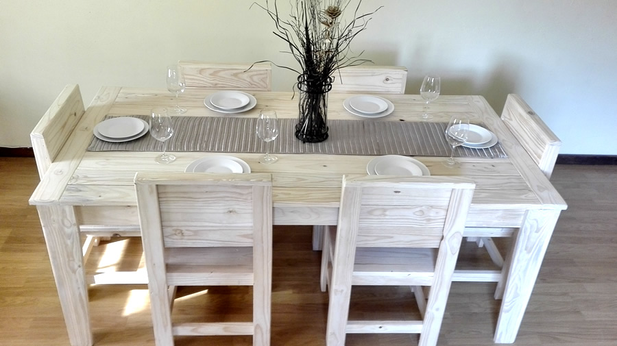 Standard Dining Sets | 6 Seater | Raw