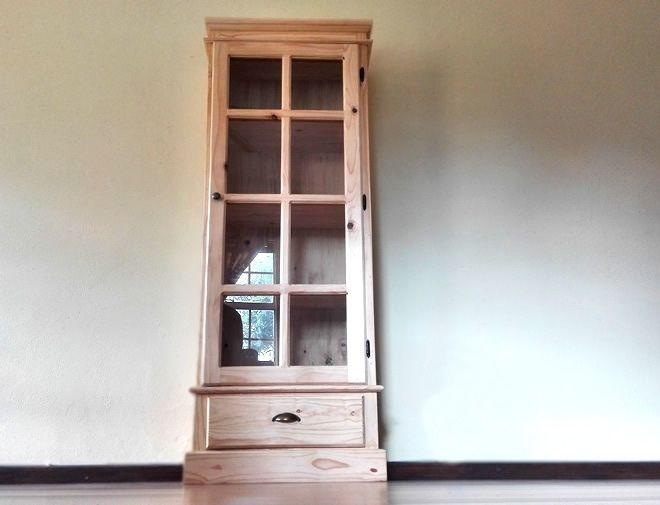 Glass door cabinet - 1