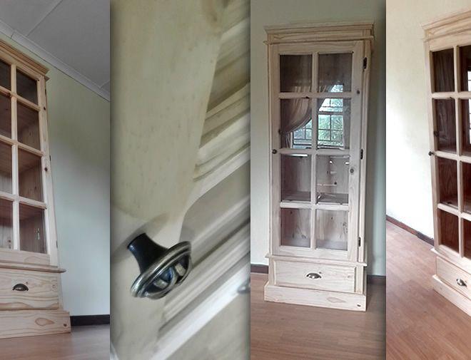 Glass door cabinet - 2