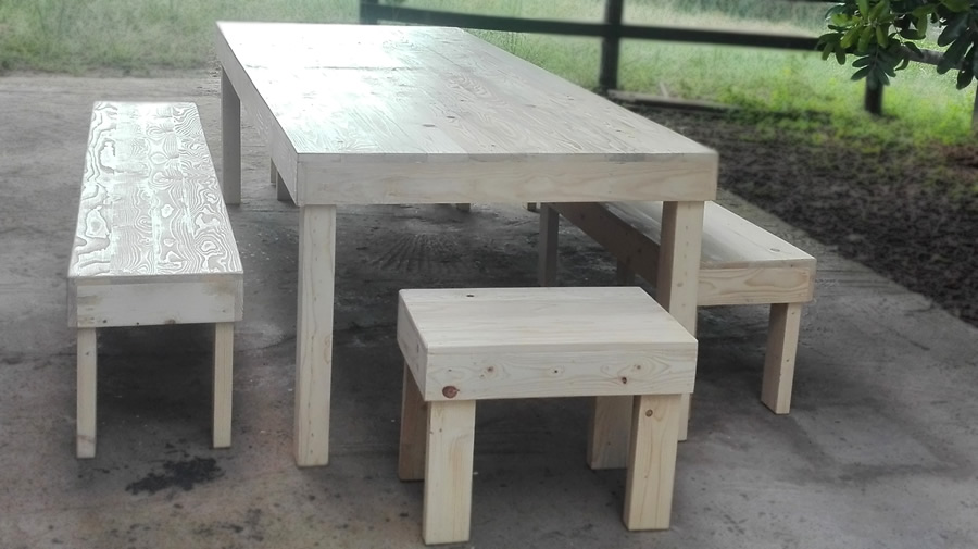 Pleasing 10 Seater Block Dining Set Raw Pallet Pabps2019 Chair Design Images Pabps2019Com