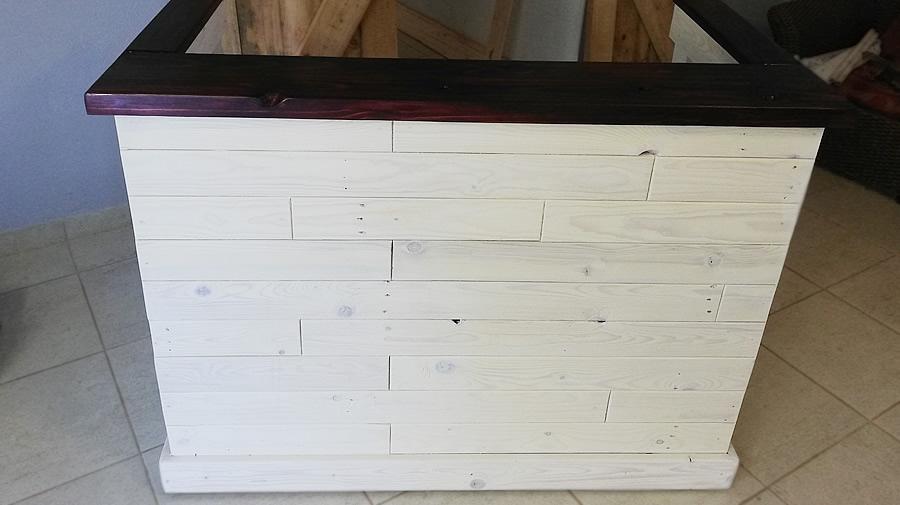 Brick Reception Desk | U-Shaped