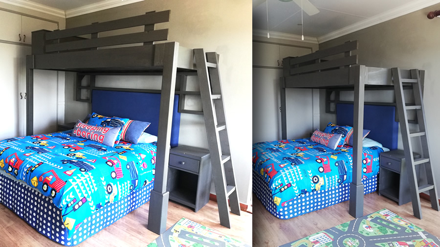Rack Bunk Bed Unit
