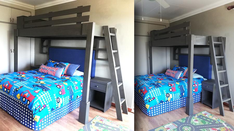 Rack Bunk Bed Unit