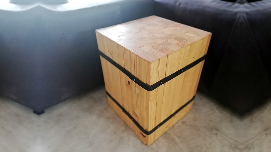 Bundled Side Table
